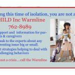 Warmline for Parents & Caregivers