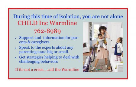 Warmline for Parents & Caregivers