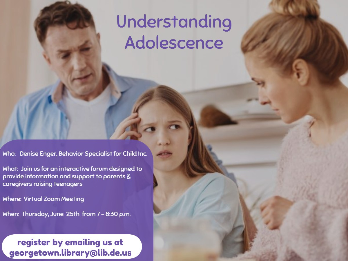 Parenting Teens Zoom Discussion Group